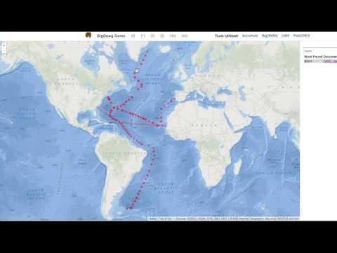 BigDAWG and Ocean Metagenomics