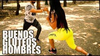 Consigue BUENOS GLUTEOS hombres y mujeres EJERCICIOS EN CASA Ana Mojica Fitness ft Adrin Fit
