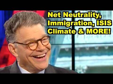 Net Neutrality, Immigration - Al Franken, Bill Maher & MORE! LiberalViewer Sunday Clip Round-Up 82