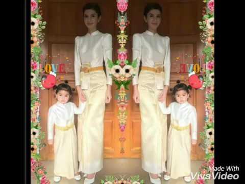 น้องมะลิ สวมชุดไทย สวยหวานถอดแบบแม่โบว์เป๊ะ