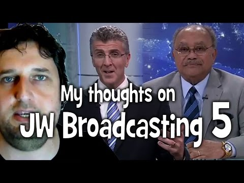 My thoughts on JW Broadcasting 5, with Sam Herd (tv.jw.org) - Cedars' vlog no. 72