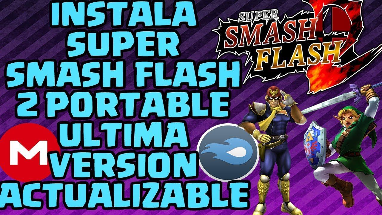 descargar super smash flash 2 ultima version para android