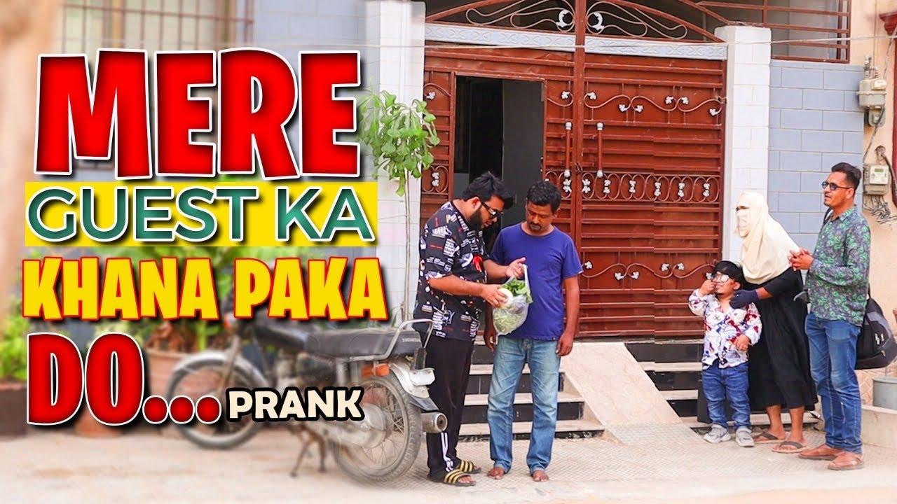 | Mere Guest Ka Khana Paka Do | By Nadiir Ali & Team in | P4 Pakao | 2021