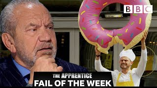 FAIL OF THE WEEK: Hot sauce doughnut?!? | The Apprentice - BBC