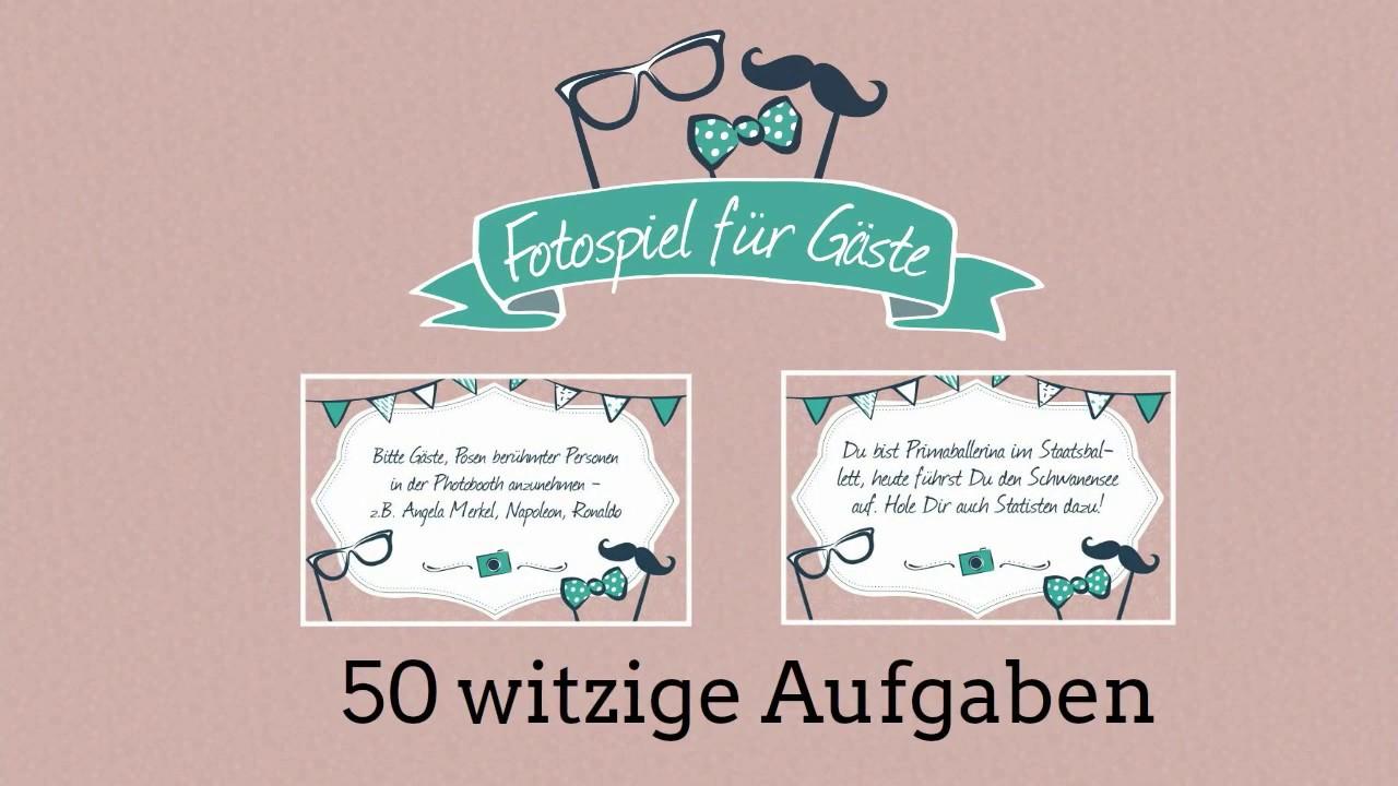 50 witzige Photobooth Aufgaben fr die Hochzeitsfeier