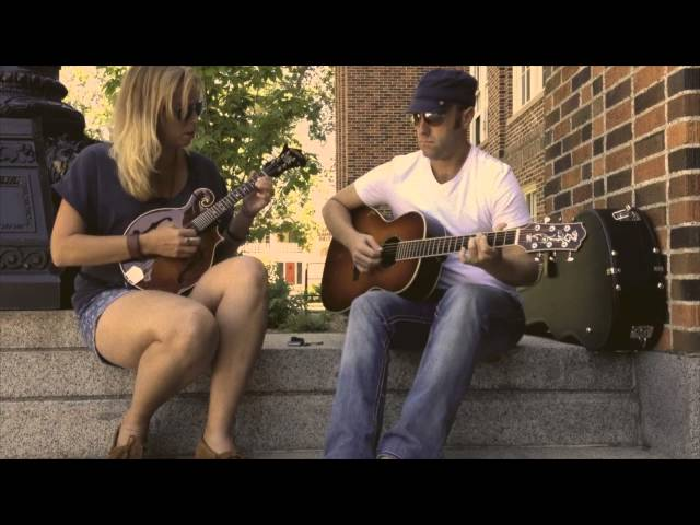 """Friend of the Devil"" performed by Billy Abel & Mandy Rowden on Montana State University Campus"