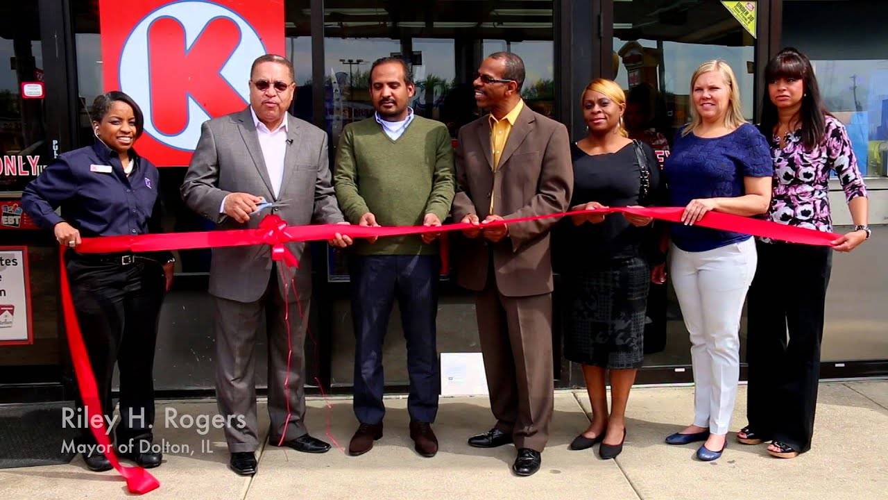 Grand Opening of Circle K and Checkers in Dolton, IL