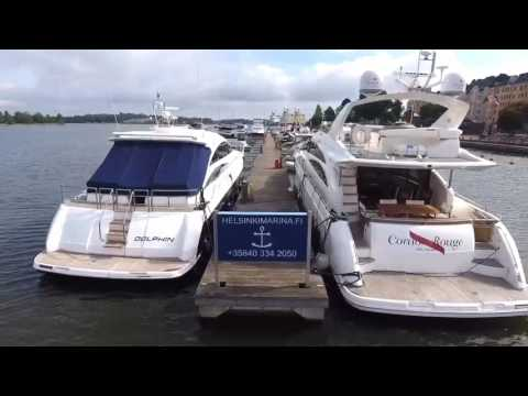 Luxury Yachts Helsinki Katajanokka | Aerial Video