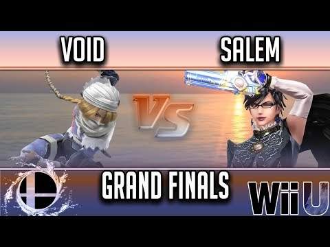 SmashNSplash 4  GRAND FINALS  CLG  VoiD W Sheik vs Liquid MVG  Salem L Bayonetta