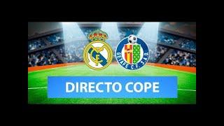 (SOLO AUDIO) Directo del Real Madrid 2-0 Getafe en Tiempo de Juego COPE