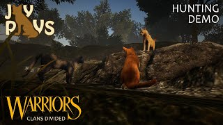 A New Warriors Game!! | Warriors: Clans Divided Hunting Demo