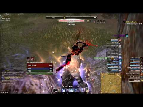 ESO One Tamriel Magicka Sorcerer Outnumbered PvP #14