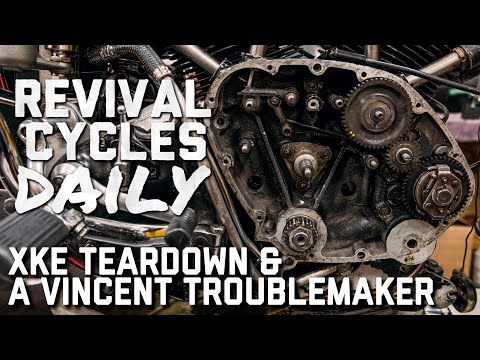 Jaguar XKE/E-type Teardown & Vincent Rapide Cam Timing // Revival Daily 86