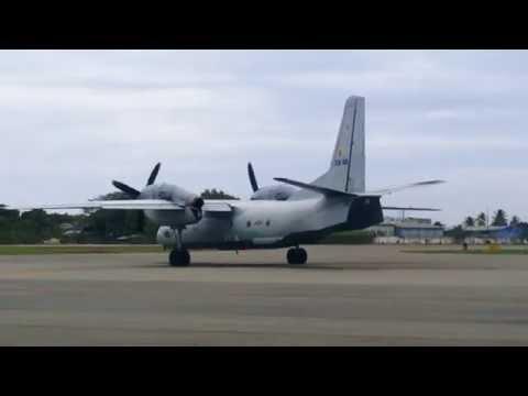 Antonov An-32B takeoff from Ratmalana