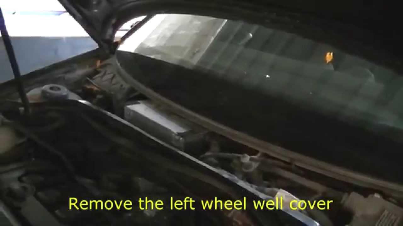 Audi A3 2 0 Fsi Transmission Control Module Location Youtube