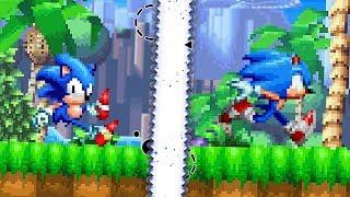Sonic Fan Games : Sonic Generations 2D