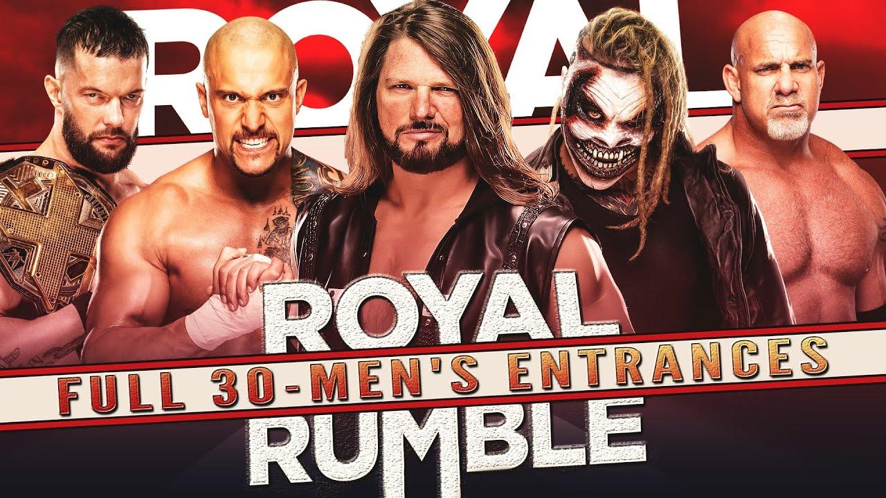WWE 30 MAN ROYAL RUMBLE MATCH 2021    ENTRANCE PREDICTIONS (Epic Returns,  Surprises & Winner) - YouTube
