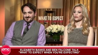 Elizabeth Banks And Ben Falcone Talk What To Expect When You're Expecting
