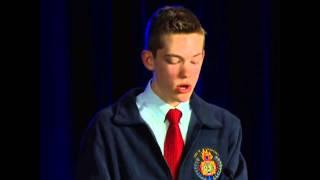 VFW - Voice of Democracy Winner Adam Densmore