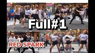 [Full 1] 180727 Red Spark (레드스파크) & Boys Team cover dance 홍대 HD HD