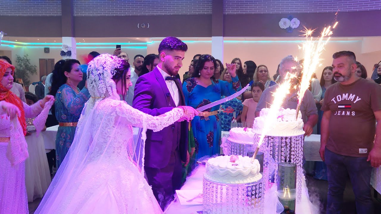 Ibrahim Halil & Fatma - Wedding - Music: Sinan El Favaz & Azad Jando - Part 06 #EvinVideo