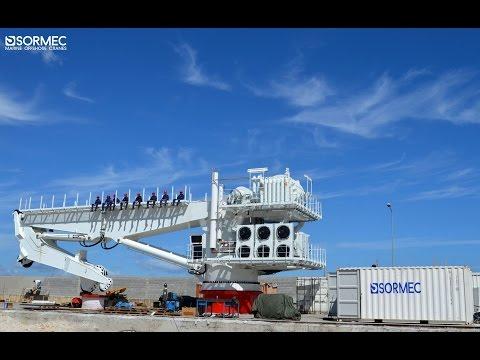 Sormec Knuckle AHC crane M4500/EL