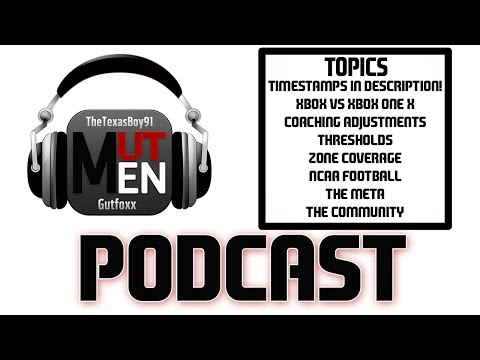 THE MUT MEN MADDEN PODCAST #85 WITH REX DICKSON! - NEW FEATURE COMING SOON TO MADDEN!!!