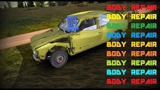 Как выпрямить кузов в My Summer Car | Body repair My Summer Car(Показываю как исправить вмятины на кузове в My Summer Car. Если видео помогло тебе,то подпишись на канал и поставь..., 2016-04-04T19:31:02.000Z)