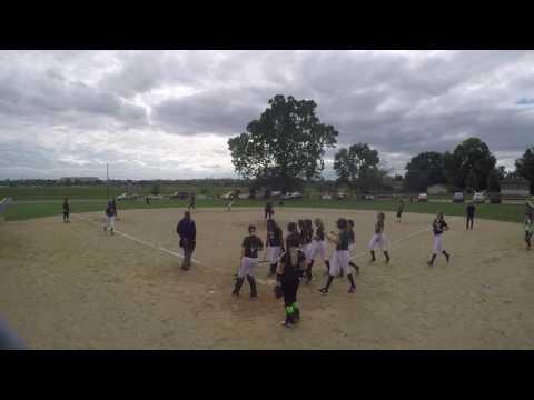 Rayne Schmidt Hits a 3 Run Shot! 09_25_16