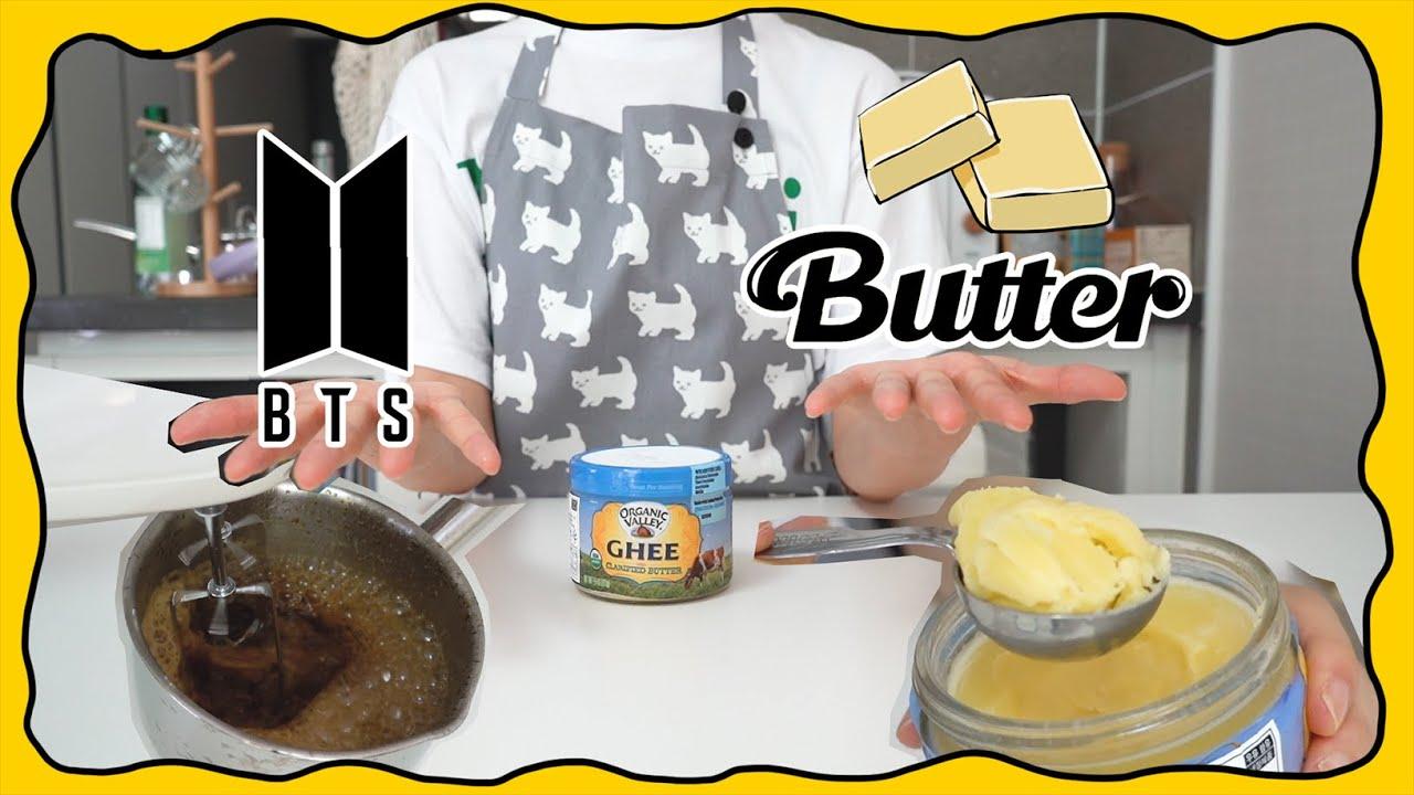 버터로 방탄 커피 만들고 불타오르네