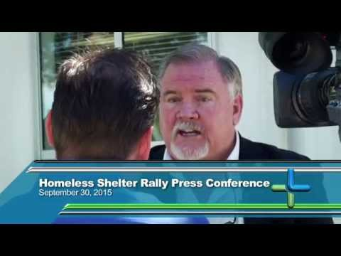 Homeless Shelter Rally & Press Conference | City of Lancaster