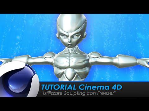 "TUTORIAL CINEMA 4D ""Utilizzare Sculpting con Freezer"""