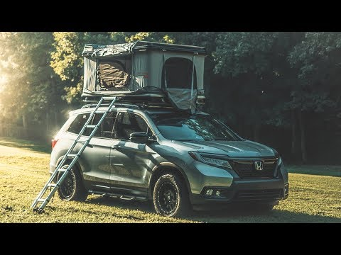 2019 Honda Passport Full Review (with Family Camping)