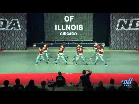 University of Illinois at Chicago Dancing Flames - Hip Hop Div I - NDA Nationals April 10, 2015
