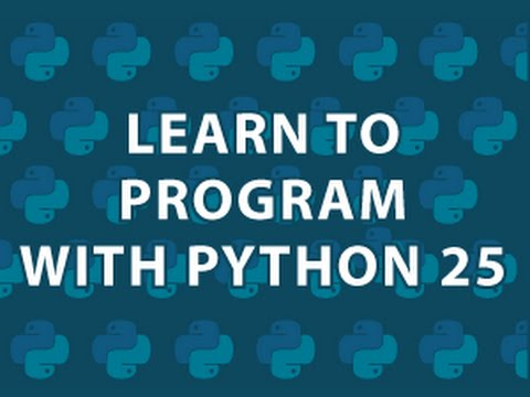 Learn to Program 25 Python Paint App