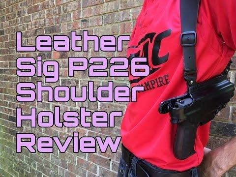 Honest Review: Custom Leather Shoulder Holster (Vega Holsters)