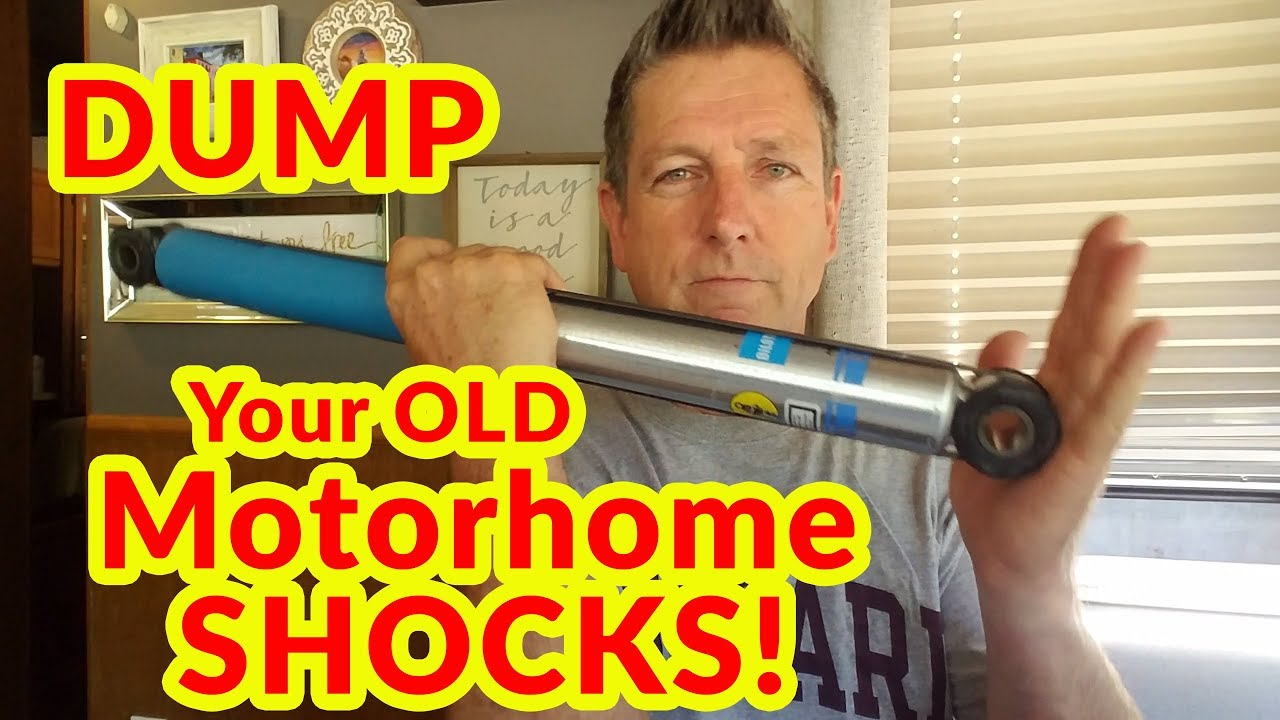 Replace Old F53 Motorhome Shocks | DIY Experiment