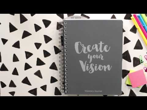 Visionary Journal- Create your vision. Change your life.
