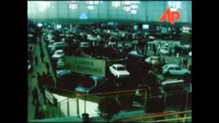 Paris Otomobil Fuarı Renault 12 Tanıtım Standı 1969