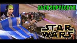 Fanmade | Jacksepticeye playing the Star Wars Pod Race