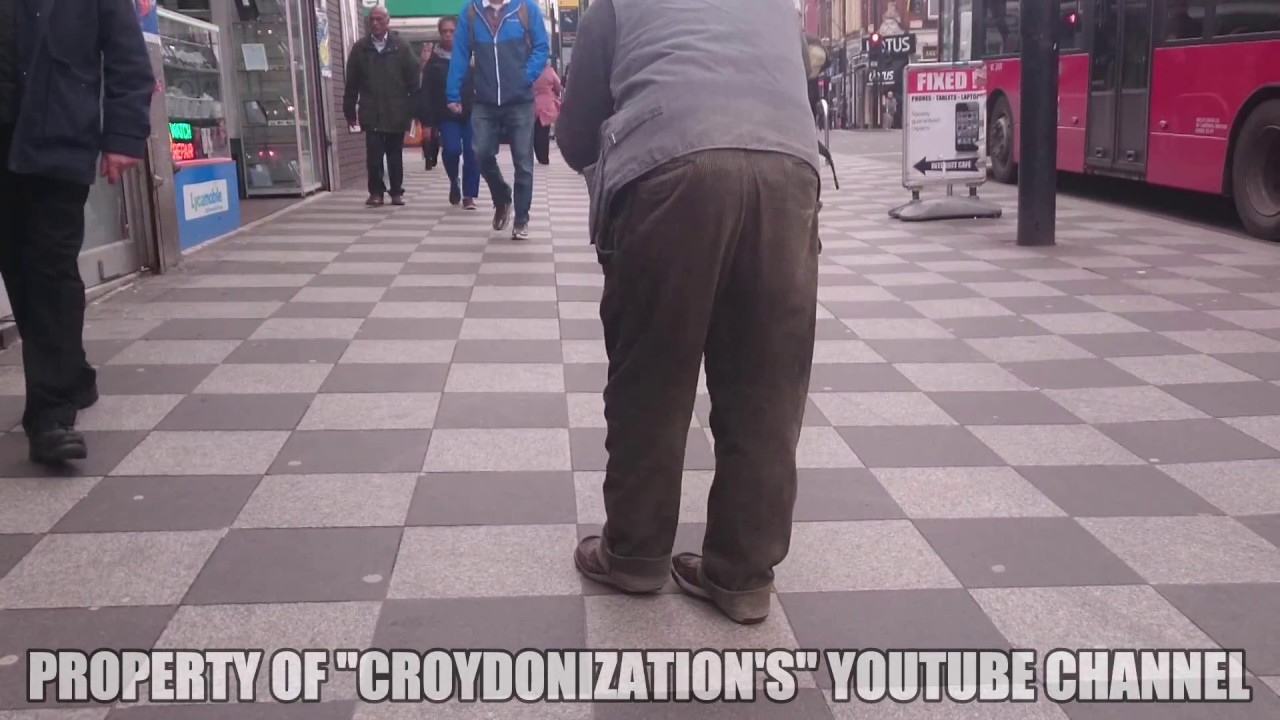 Gypsy Beggar with Crazy Shaking Legs | Roma EPIDEMIC in Croydon, UK | Ep 7