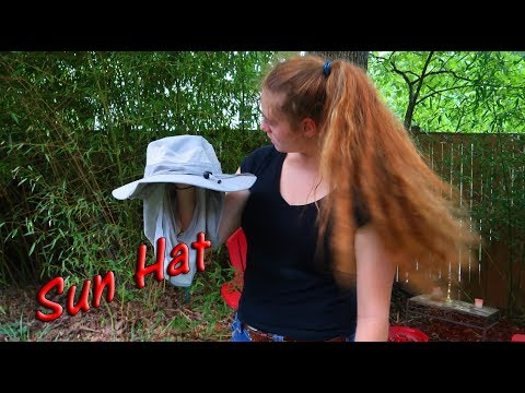 🌞Sun Hat Outdoor Cap 👀360 Degree Protection Removable Flaps Product Review 👈