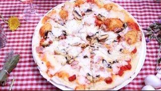Pizza au barbecue