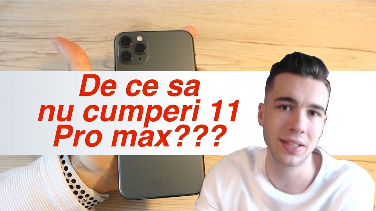 iPhone 11 Pro Max Review - De ce sa nu il cumperi?!