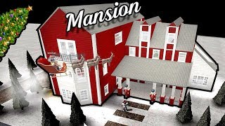 Christmas Mansion! | Roblox - BloxBurg (129k)
