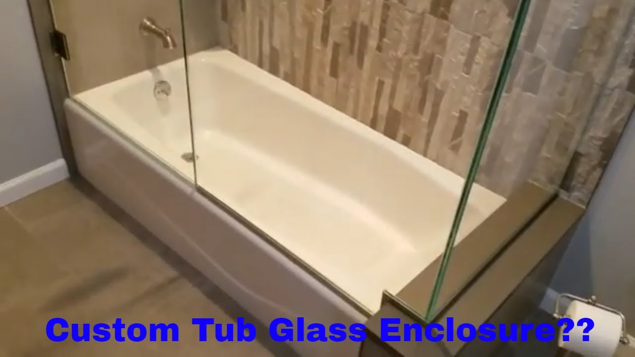 Frameless Glass Tub and Shower Enclosure installed in Newark, NJ by ...
