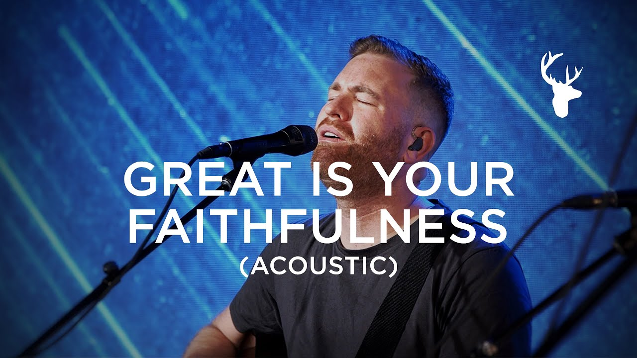 Great Is Your Faithfulness and O Praise the Name (Acoustic) - The McClures | Moment