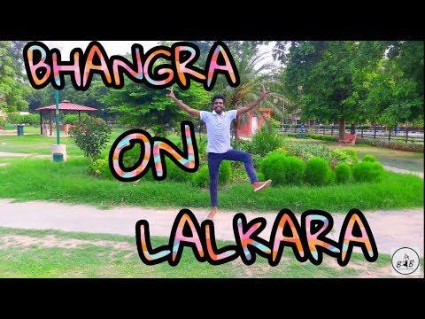 "Bhangra On Lalkara || Amrit Maan || By "" Born 4 Bhangra """