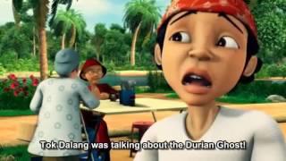 Gambar cover upin ipin hantu durian full episode diva entertainment