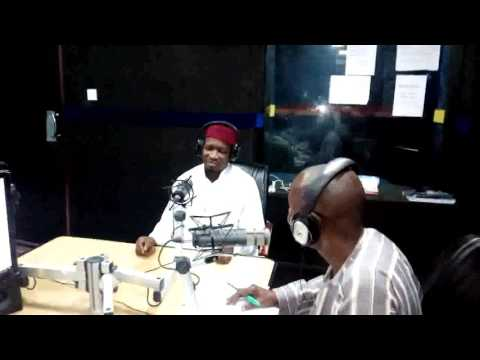 Imam Jamiu Asanbe  at Radio Lagos